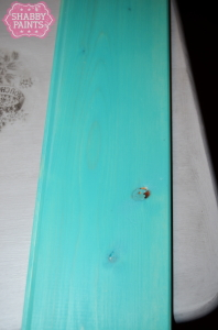 diy plank backsplash Peacock
