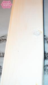 diy plank backsplash Alamo White