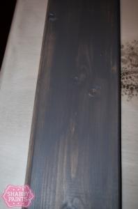 diy plank backsplash Garfield Grey