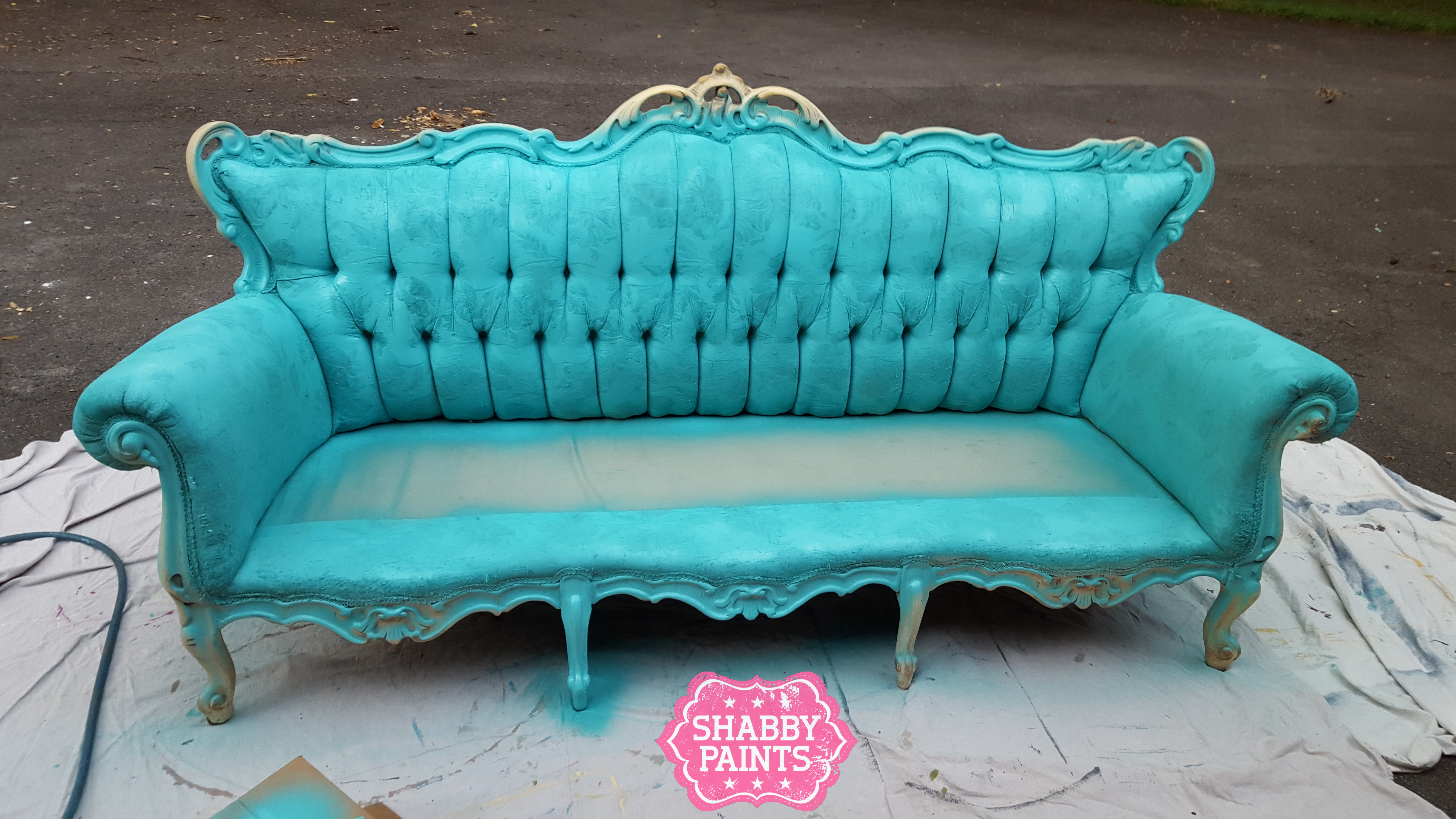 Painting Fabric With Chalk Paint Shabby Paints