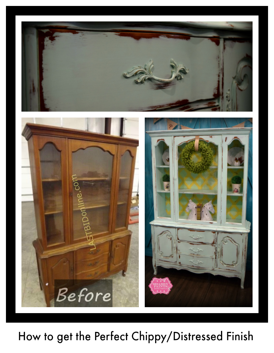 How to get the Perfect Chippy Finish with Chalk Acrylic Paint