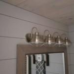 Farmhouse lights Bathroom