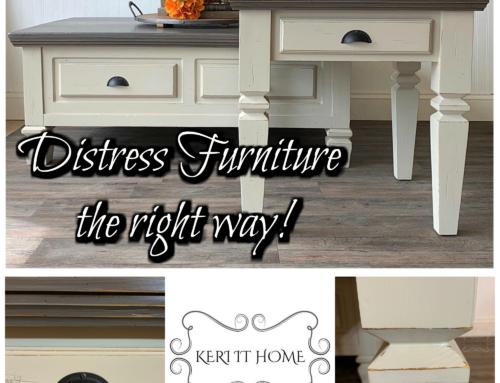 Distressing Furniture