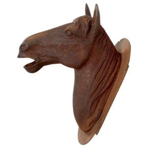 Rusted Horse Head