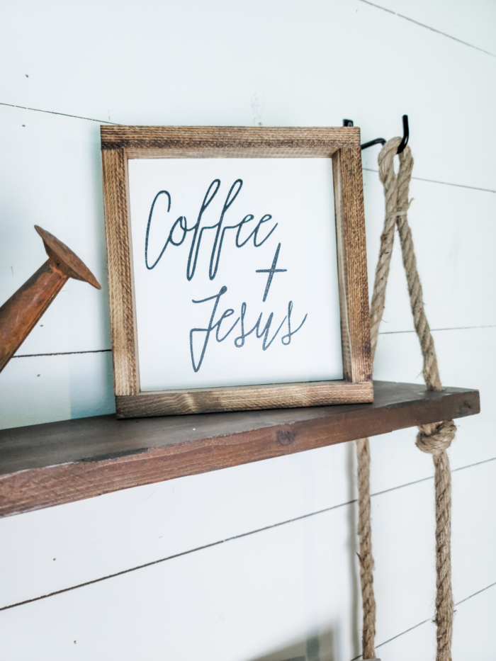 Faith Based Home Decor - Coffee & Jesus